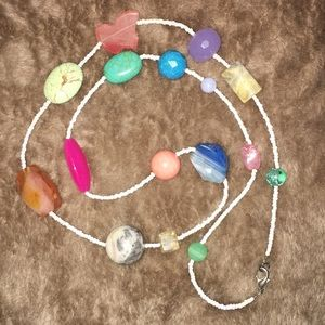 Jewelry - Beaded Station Necklace